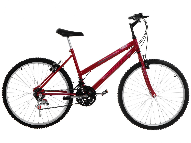 Bicicleta Aro 26 South Bike Lover Girl - Freio V-Brake 18 Marchas