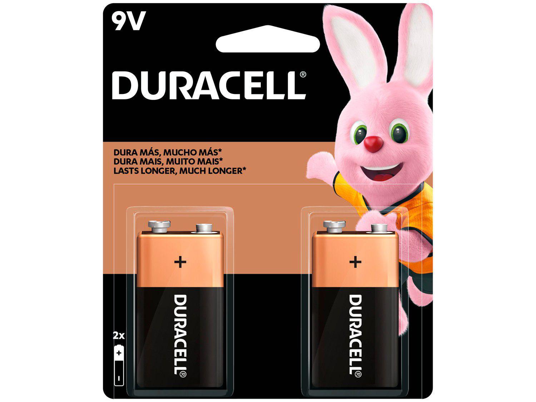 Bateria Alcalina 9V 2 Unidades - Duracell