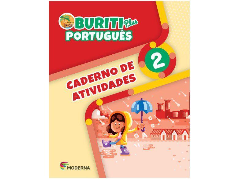 Livro Buriti Plus: Caderno de Atividades Português - 2º Ano, Ensino Fundamental I