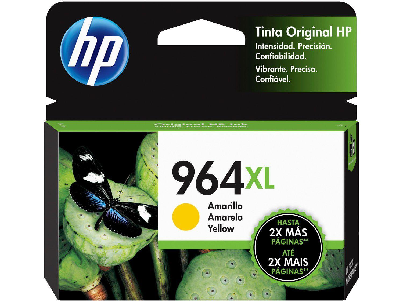 Cartucho de Tinta HP 964XL Amarelo - Original