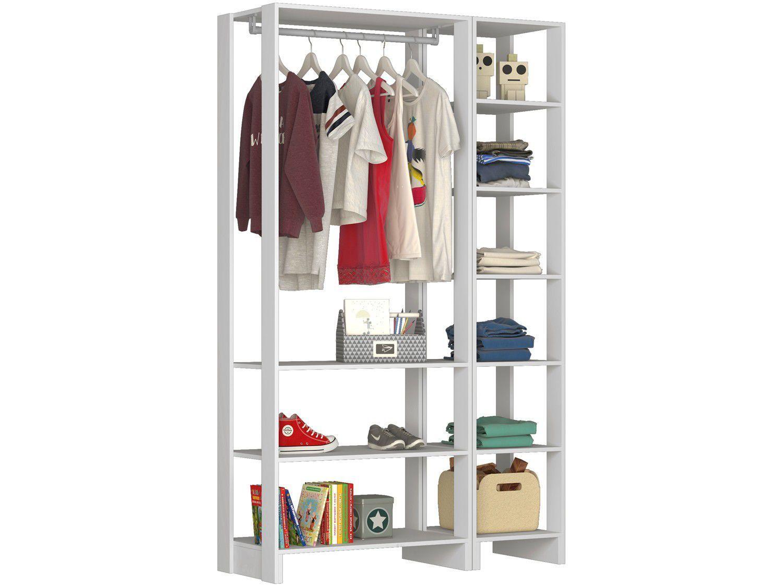 Closet Modulado 9 Prateleiras Nova Mobile - EY101-104.038