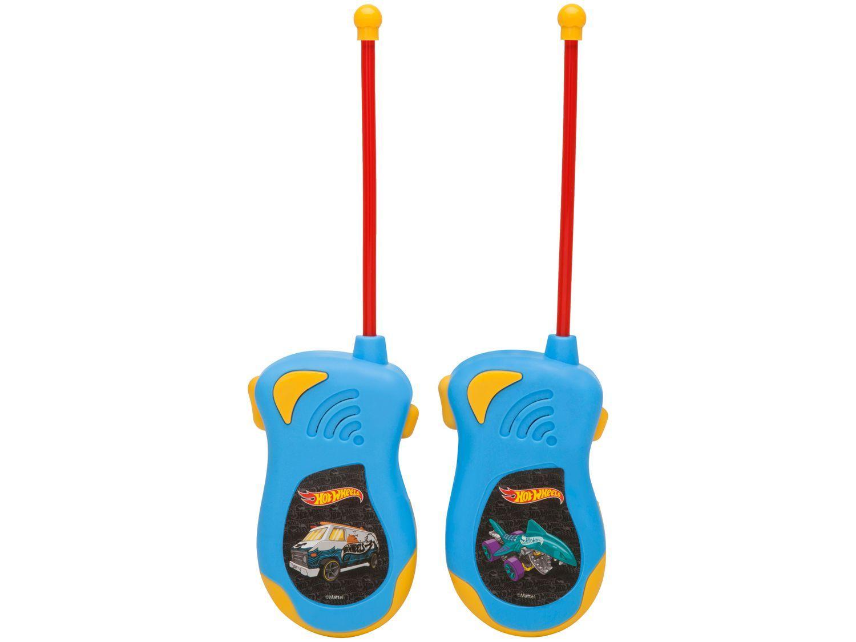 Walkie Talk Infantil Hot Wheels Candide - 2 Unidades