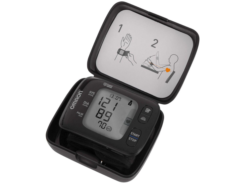 Medidor de Pressão de Pulso Digital Omron - Automático Bluetoth HEM-6232T