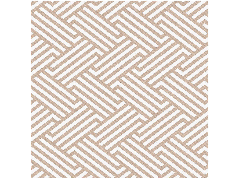 Papel de Parede Marrom Geométrico Bobinex Uau! - 52cmx1000cm