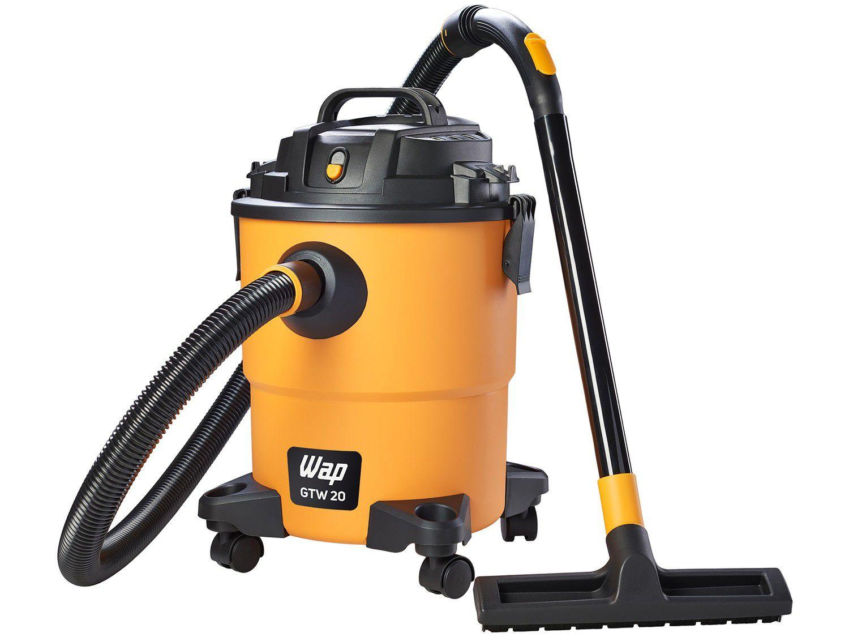 Aspirador de Pó e Água Profissional Wap - 1600W GTW 20 Amarelo e Preto