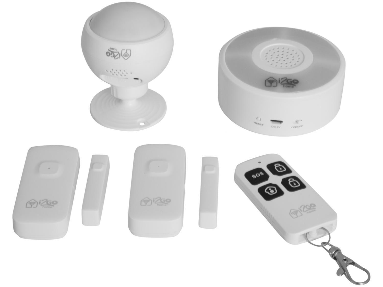 Kit Casa Segura I2GO - I2GOTH725 Controle por Smartphone