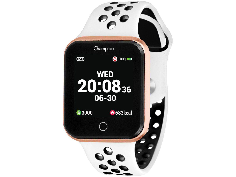 Smartwatch Champion CH50006W Preto - 512KB