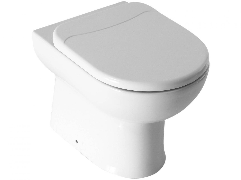 Vaso Sanitário Convencional Oval Branco Celite - Smart