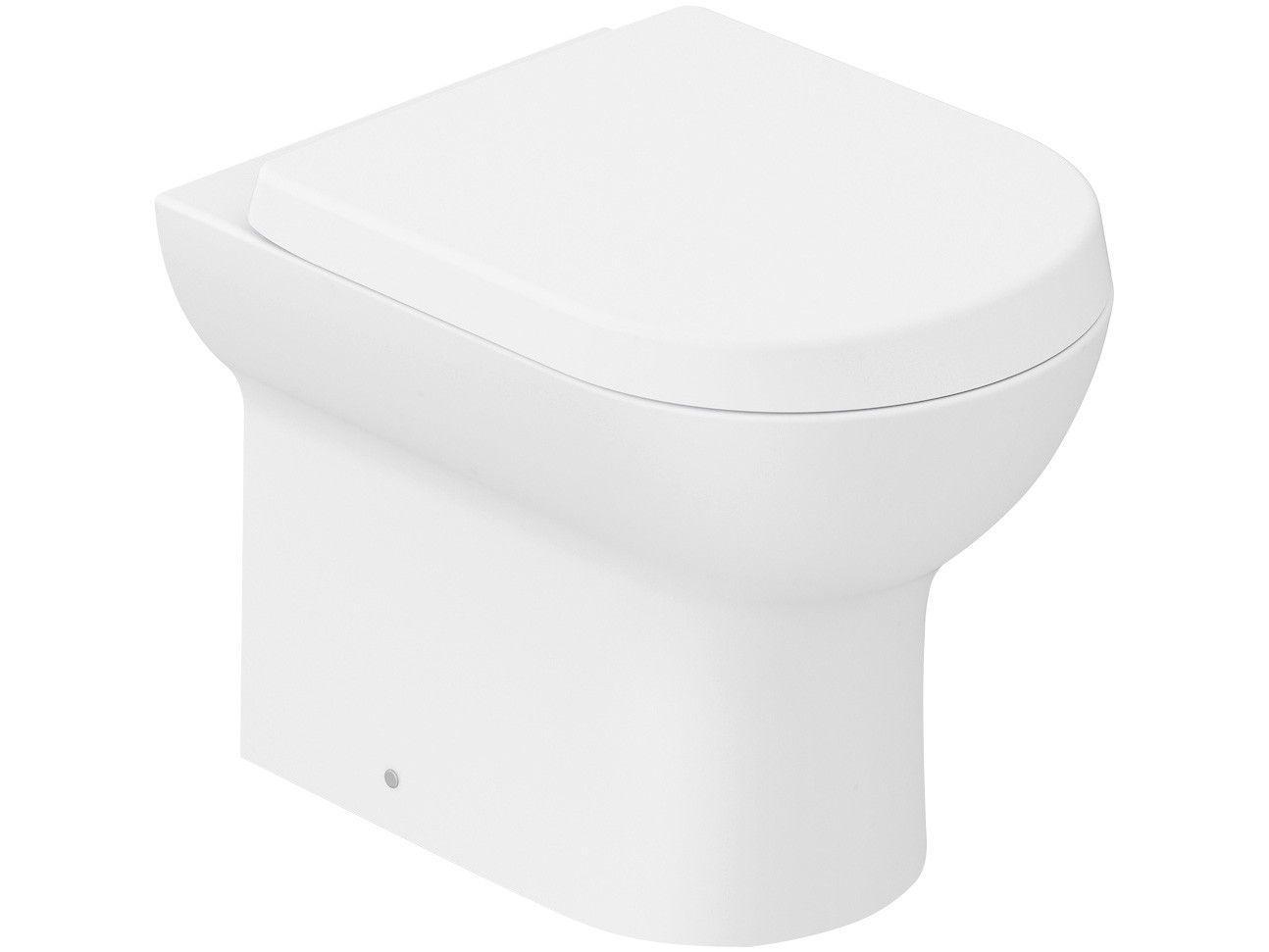 Vaso Sanitário Convencional Oval Branco Matte Roca - Nexo
