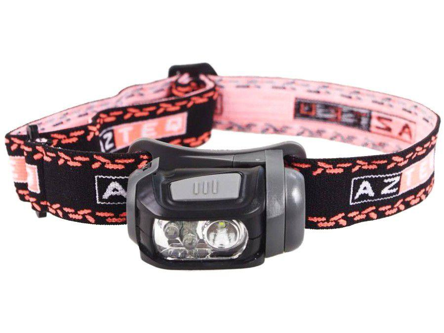 Lanterna LED de Cabeça 140 Lúmens 60m - Azteq Mistik