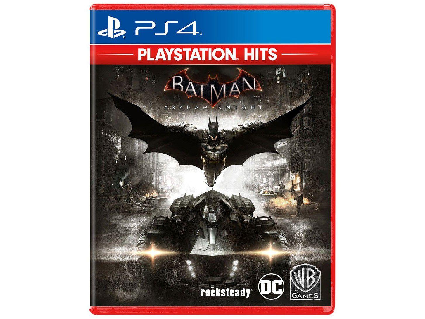 Batman Arkham Knight para PS4 Rocksteady Studios - Playstation Hits