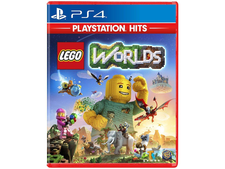 Lego Worlds para PS4 TT Games - Playstation Hits