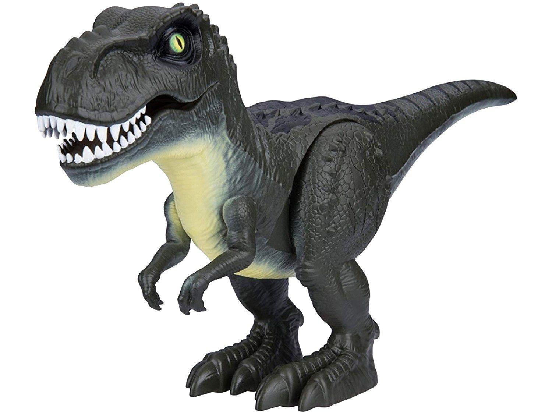 Dinossauro Robotic Emite Som 16cm Candide