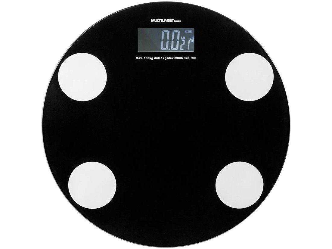 Balança Digital até 180kg Multilaser - Eastmart