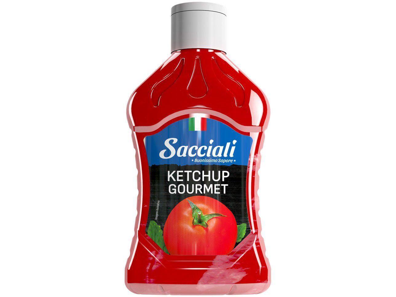 Ketchup Tradicional Gourmet Sacciali - 675g