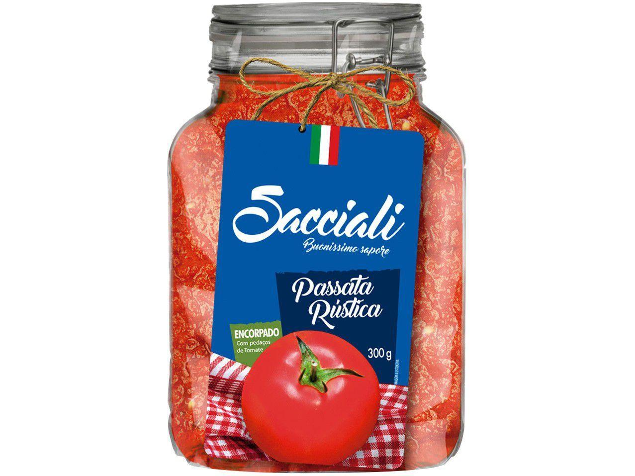 Passata de Tomate Rústica Sacciali Encorpado - 300g