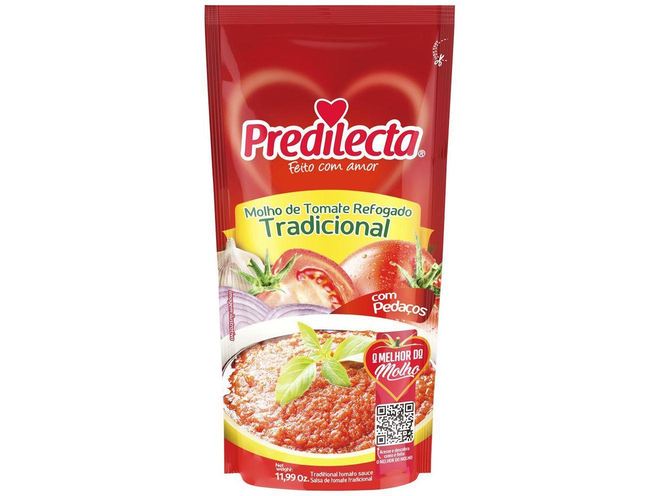 Molho de Tomate Predilecta Tradicional - 340g