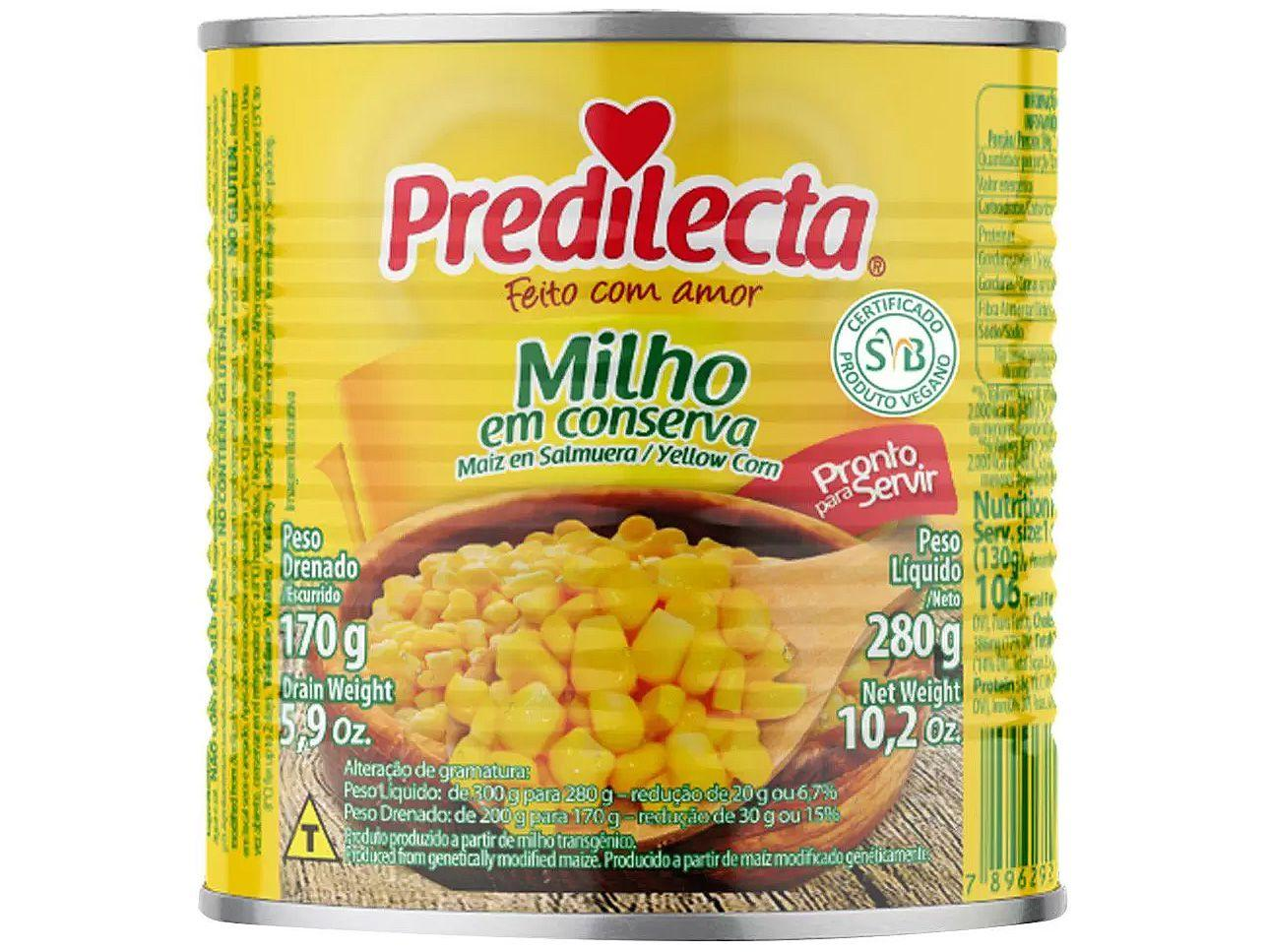 Milho em Conserva Predilecta - 170g