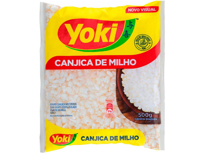 Canjica de Milho Branca Tipo 1 Yoki 500g