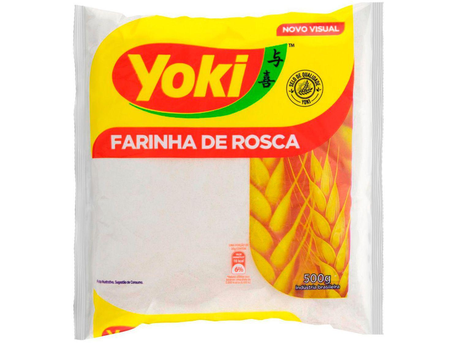 Farinha de Rosca Fina Seca Yoki 500g