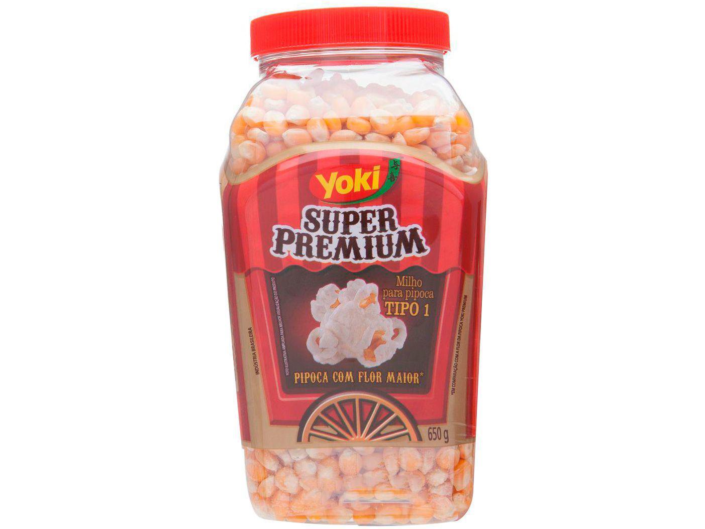 Milho de Pipoca Yoki Super Premium - 650g
