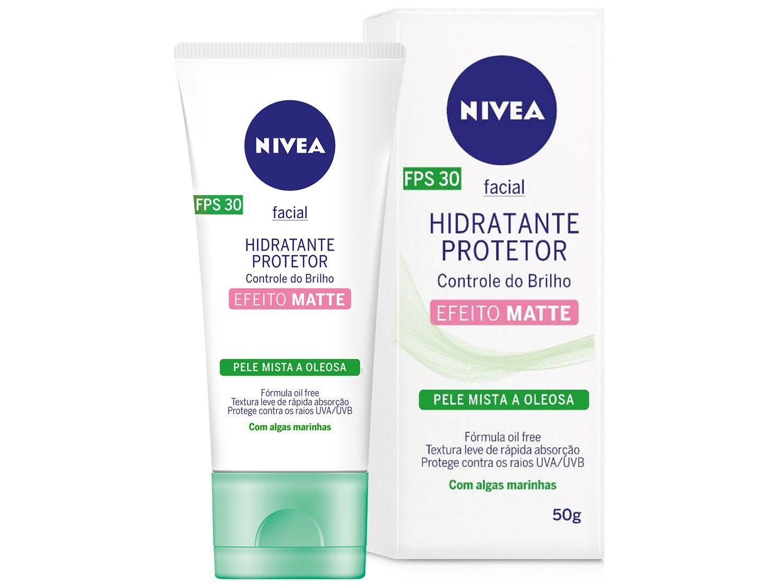 Protetor Facial Hidratante FPS 30 Nivea - Controle do Brilho e Oleosidade 50g