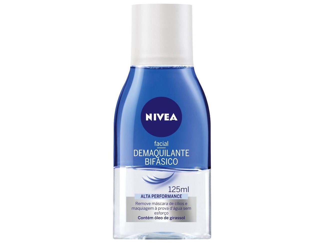 Demaquilante Facial Bifásico Nivea Alta Performace - 125ml