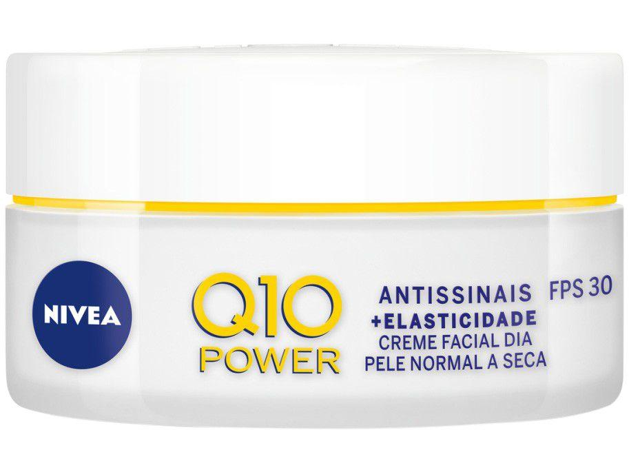 Creme Antissinais Facial Diurno Nivea Q10 Power - 50g