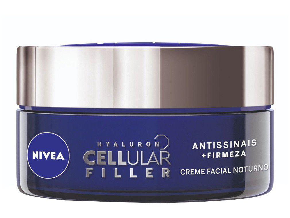 Creme Facial Antissinais Nivea Cellular Noite 51g