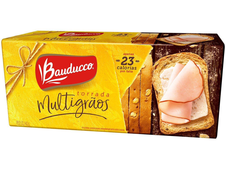 Torrada Bauducco Multigrãos Salgada 142g