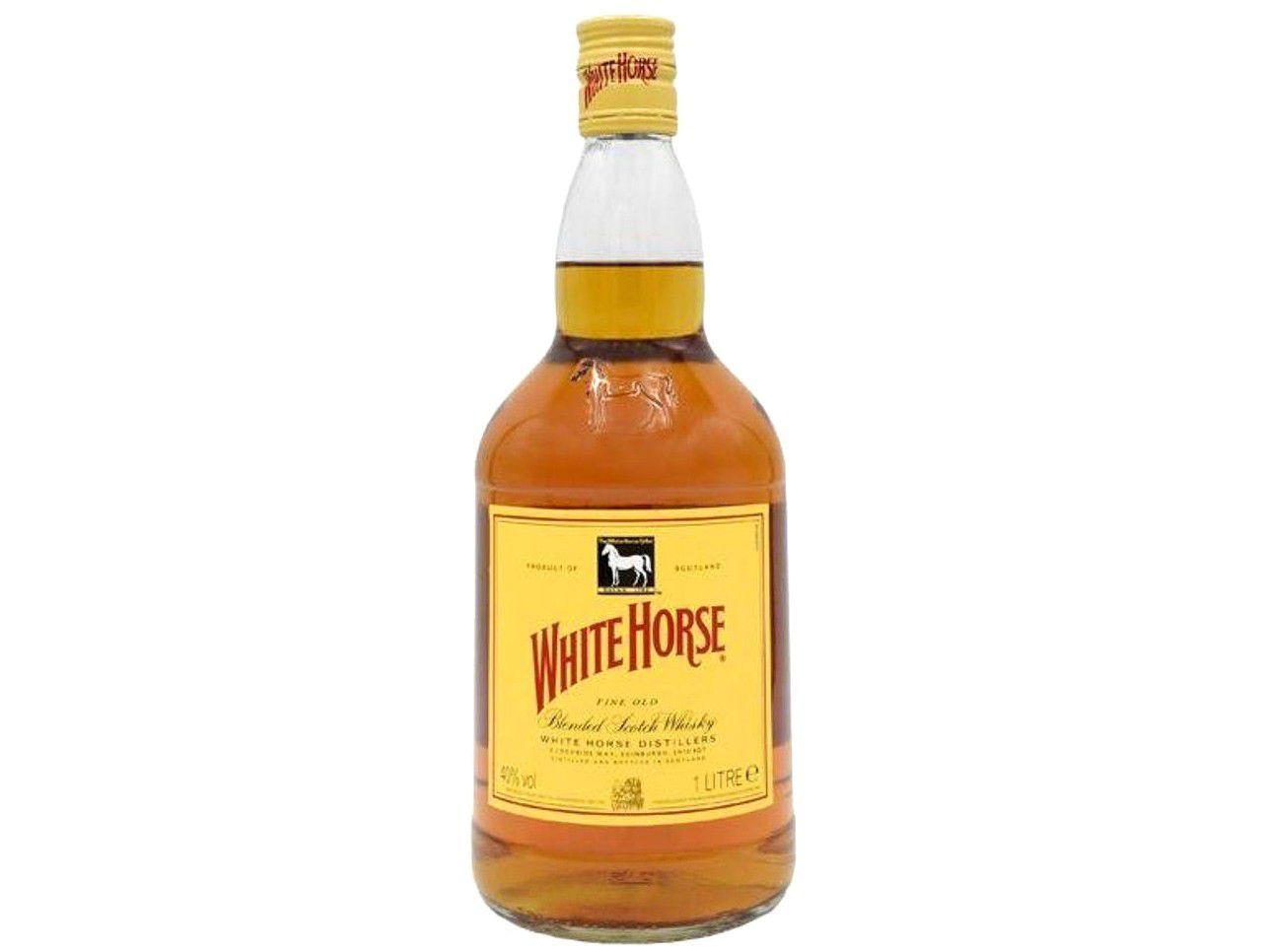 Whisky White Horse Fine Old Escocês 1L