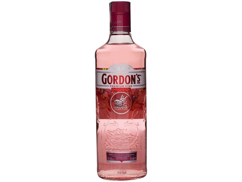 Gin Gordons Pink Rose Clássico e Seco 700ml