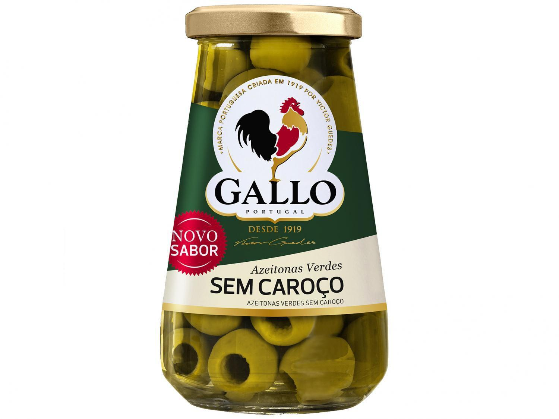 Azeitona Verde sem Caroço Gallo 150g