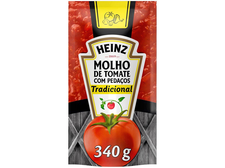 Molho de Tomate Tradicional Heinz 340g