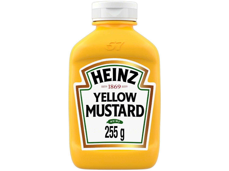 Mostarda Amarela Tradicional Heinz 255g