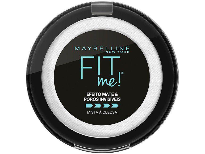 Pó Compacto Matte Maybelline NY FIT ME! H2221100 - Transparente 10g
