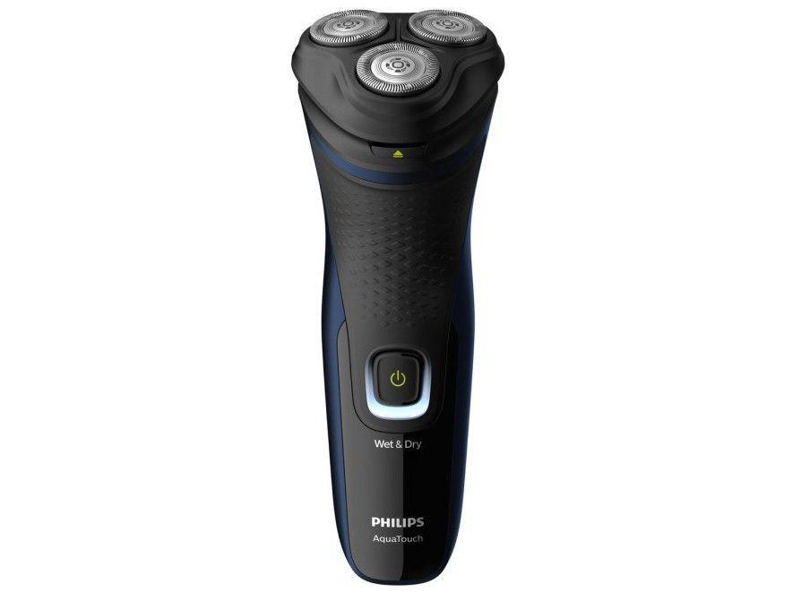 Barbeador Elétrico Philips AquaTouch Series 1000 - Seco e Molhado 1 Velocidade