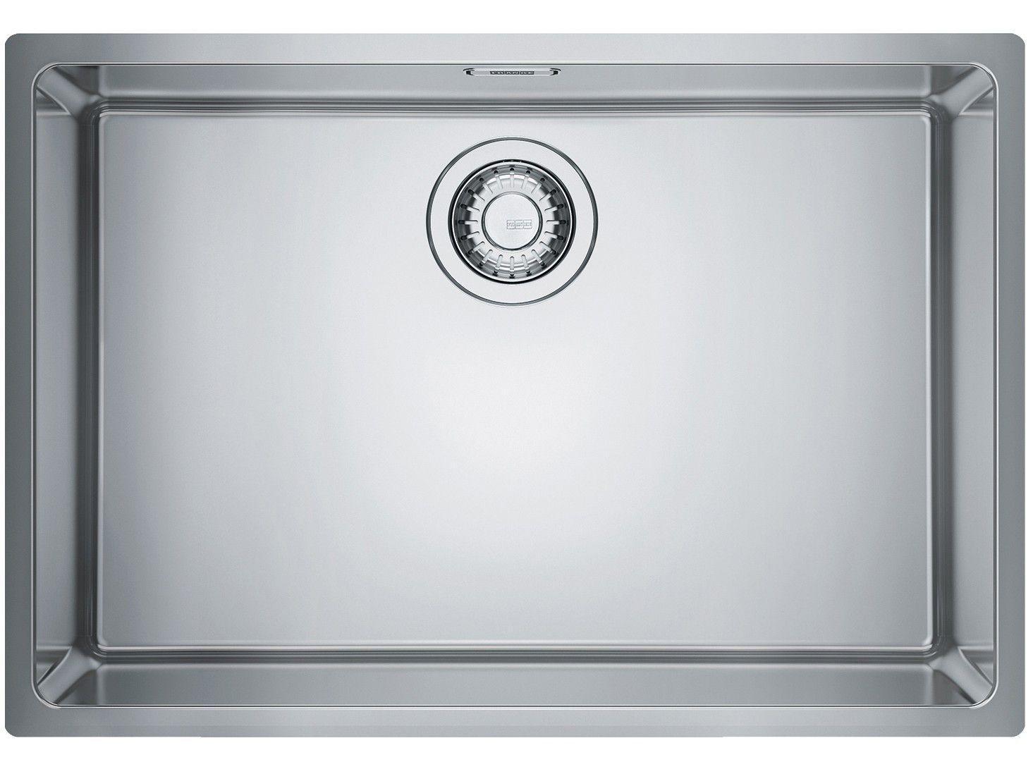 Cuba para Cozinha Franke Inox de Embutir e - Sobrepor Retangular 60x40cm Prática Linea FEX11060