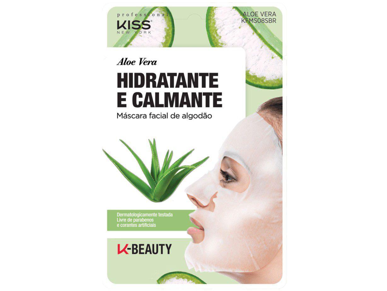 Máscara Facial Kiss New York Professional - Aloe Vera 20ml