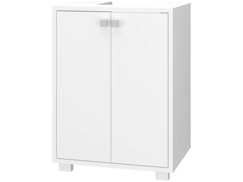 Balcão de Banheiro 2 Portas 1 Prateleira - BRV Móveis Multi BBN 20-06