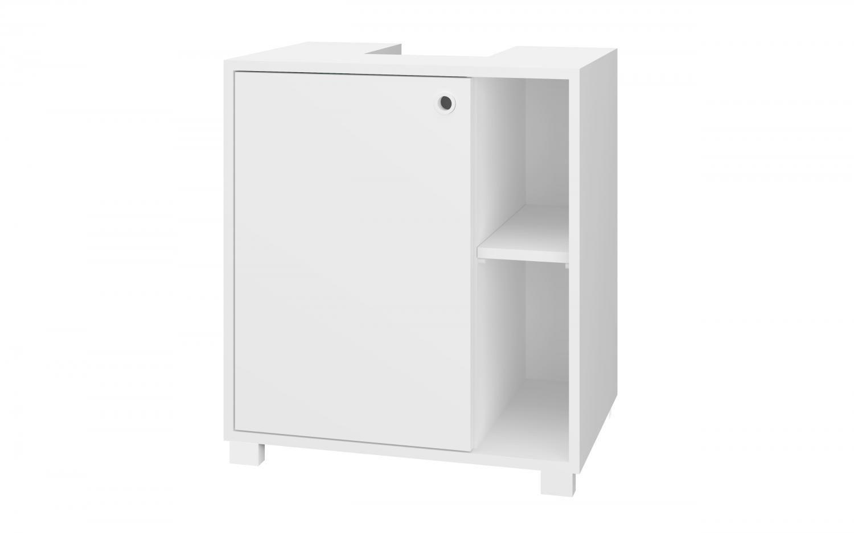 Balcão de Banheiro 1 Porta 1 Prateleira BRV Móveis - Multi BBN 23-06