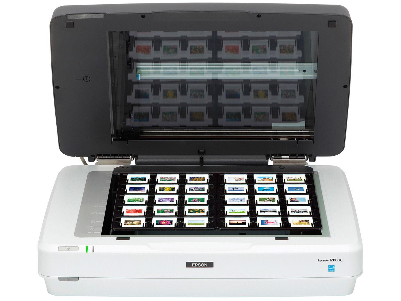 Scanner Fotográfico de Mesa Epson Expression - 12000XL-PH 2400x4800DPI