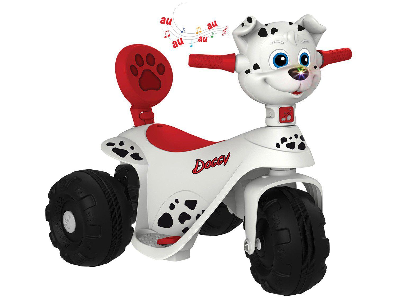 Mini Moto Elétrica Infantil Scooter Doggy 6V - Bandeirante