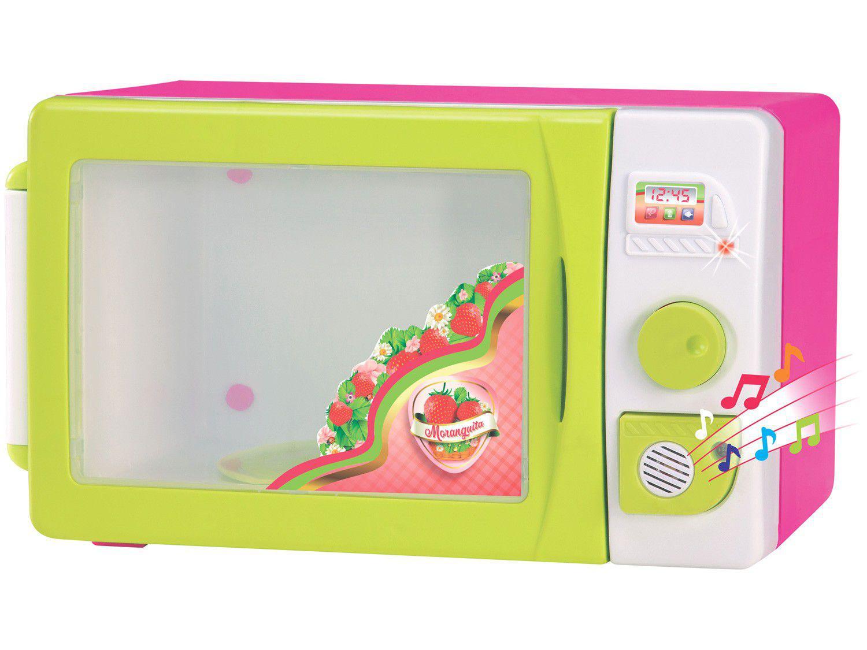 Micro-ondas de Brinquedo Moranguita Magic Toys - 3 Peças