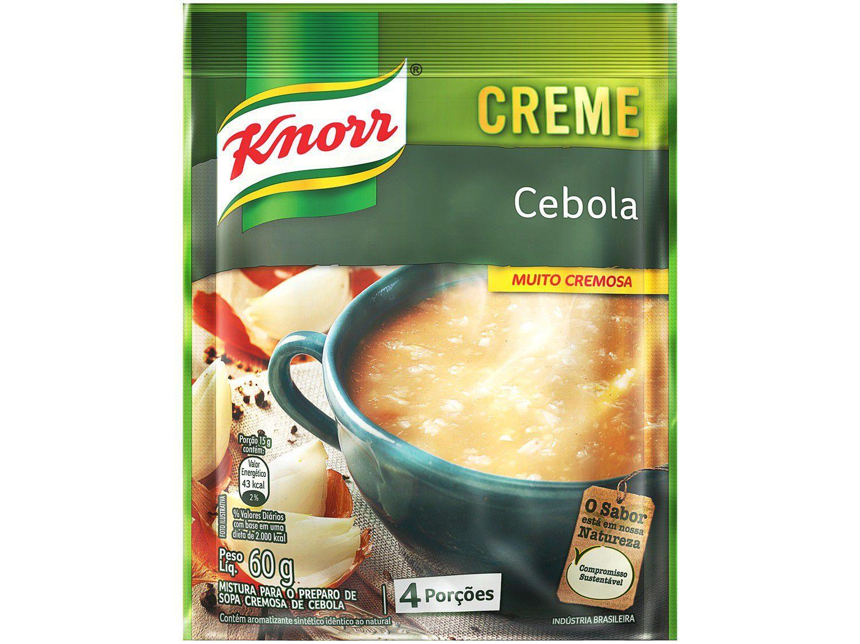 Sopa Instantânea Creme de Cebola Knorr - 60g