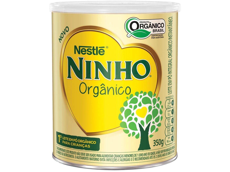 Leite em Pó Integral Ninho Orgânico - 350g