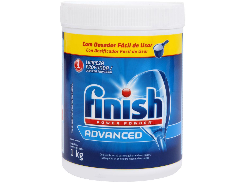 Detergente em Pó Lava-Louças Finish Power Powder - 1kg