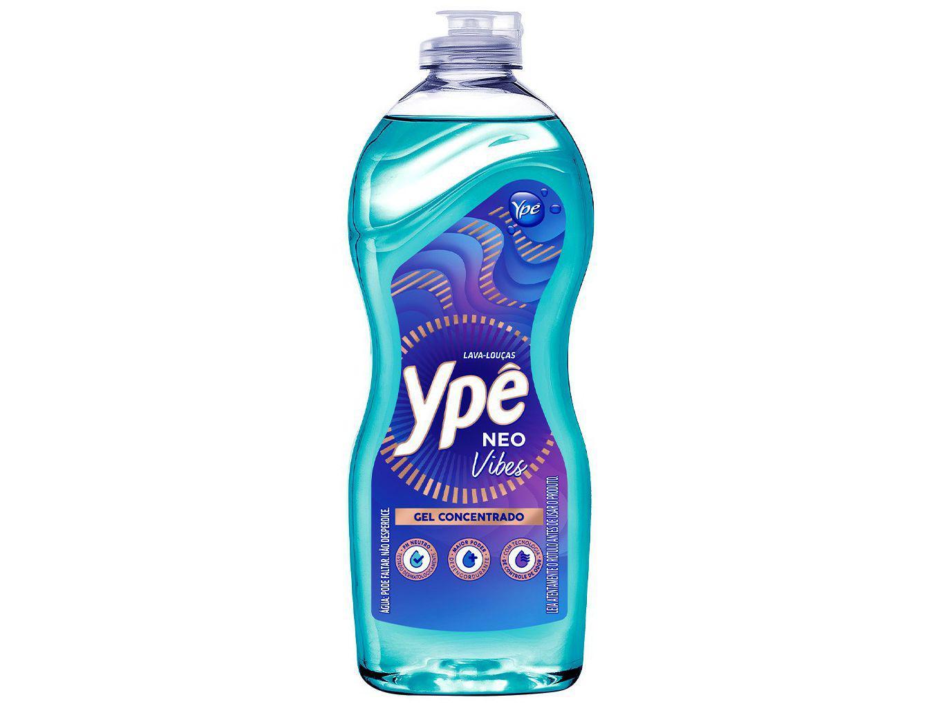 Detergente Gel Concentrado Lava-Louças Ypê - Neo Vibes 416g