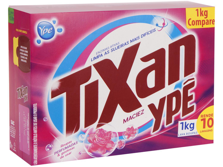 Sabão em Pó Ypê Tixan Maciez - 1kg