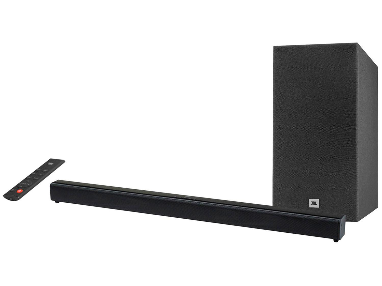 Soundbar JBL com Subwoofer Wireless Bluetooth - 110W 2.1 Canais SB160